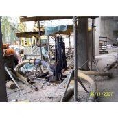Гідророзподільник бетонного потоку 100 мм