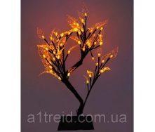 Светодиодное дерево Бонсай 45 см желтое