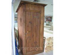 Туалет деревянный разборный