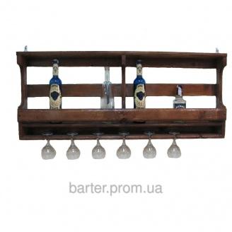 Полка для бутылок, винные стойки 1000*500*150