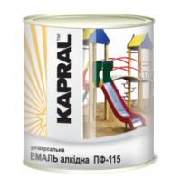 Эмаль Kapral ПФ-115 0,9 кг белый