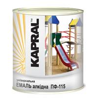 Эмаль Kapral ПФ-115 2,8 кг белый