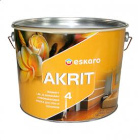 Краска интерьерная Eskaro Akrit 4 9,5 л