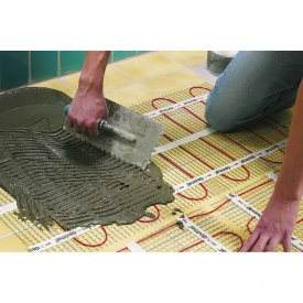 Монтаж теплої підлоги під важкі покриття