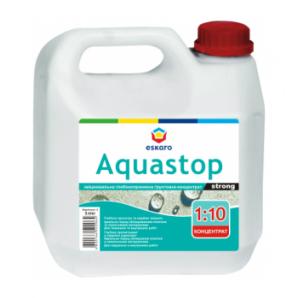 Укрепляющая грунтовка-концентрат Eskaro Aquastop Strong 1 л