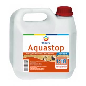 Фасадная грунтовка Eskaro Aquastop Facade 1 л
