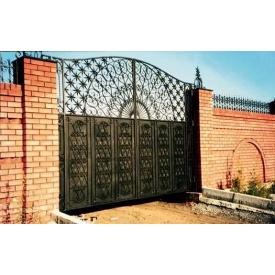 Ворота гладкие 2*3,5 м