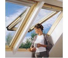 Мансардное окно VELUX GPL 3073 М10 деревянное 78х160 см