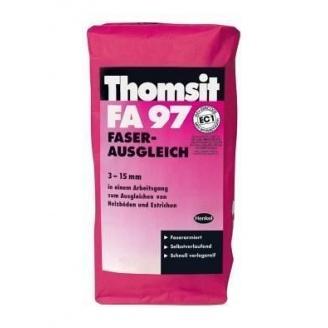 Самовыравнивающаяся смесь, армированная микроволокнами Thomsit FA 97 25 кг
