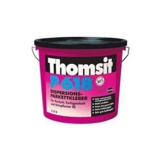 Водно-дисперсионный клей для паркета Thomsit P 618 15 кг