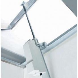 Автоматическое окно с реечным приводом