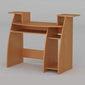 Компьютерный стол Компанит СКМ-4 1230х500х756 мм бук