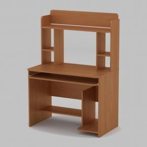 Компьютерный стол Компанит СКМ-6 1000х598х756 мм ольха