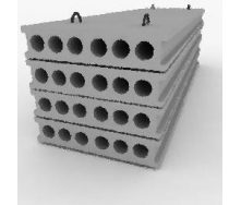 Плита перекрытия ПК 72-12-8 К1 582 5990х1190 мм