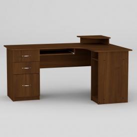 Комп'ютерний стіл Компанит СУ-3 1600х1100х756 мм горіх