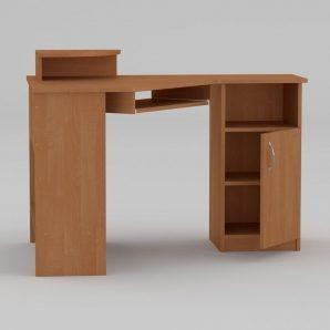 Комп'ютерний стіл Компанит СУ-1 1200х900х749 мм вільха