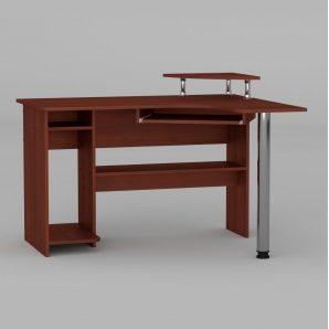 Компьютерный стол Компанит СУ-7 1200х1000х736 мм яблоня