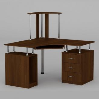 Компьютерный стол Компанит СУ-6 1200х1200х736 мм орех