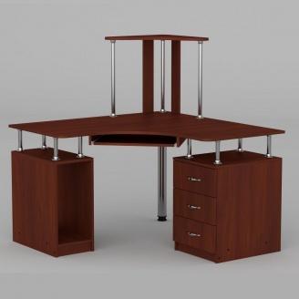 Компьютерный стол Компанит СУ-6 1200х1200х736 мм яблоня