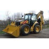 Оренда екскаватора-навантажувача Caterpillar 432 D 1 м3 40х60х90 см