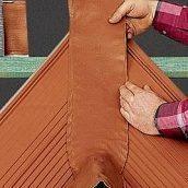 Герметизирующая лента Braas Вакафлекс 0,28х10 м коричневая