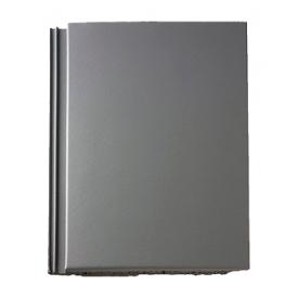 Цементно-песчаная черепица BRAAS Тегалит 420х330 мм серый