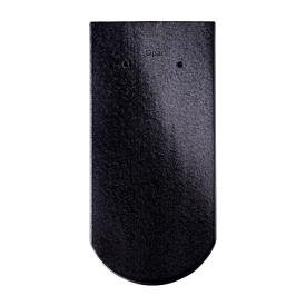 Черепица Braas Опал Глазурь 380х180 мм кристально-черный