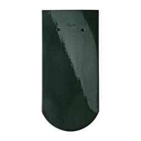Черепица Braas Опал Топ глазурь 380х180 мм бриллиантово-зеленый