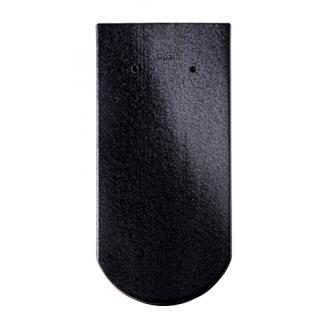 Черепиця Braas Опал Глазур 380х180 мм кришталево-чорний