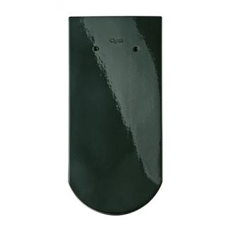 Черепиця Braas Опал Топ глазур 380х180 мм діамантово-зелений