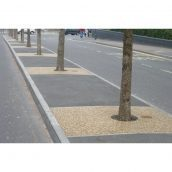 Каменный ковер для тротуара