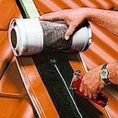 Подконьковая лента Braas Фигароль Плюс 0,28х10 м коричневая