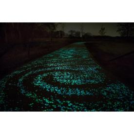 Светящаяся пешеходная дорожка