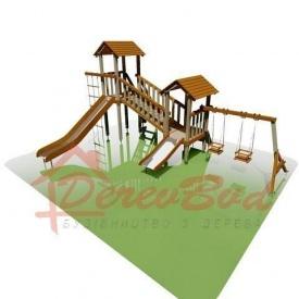Дитячий майданчик LUX 1 для дітей 1-14 років 500x690 мм 330 см