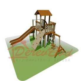 Дитячий майданчик STANDART 3 для дітей 6-14 років 510х560 мм 330 см