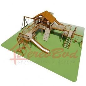 Дитячий майданчик LUX 6 для дітей 1-14 років 1180x1130 мм 390 см