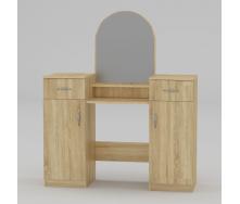 Туалетный столик Компанит Трюмо-2 1180х1390х390 мм дуб сонома