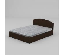 Двоспальне ліжко Компаніт-160 1644х750х2042 мм лдсп венге