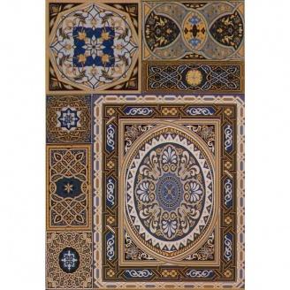 Плитка облицовочная АТЕМ Aladdin Pattern Mix B 275x400 мм (16171)