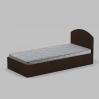 Кровать Компанит 90 944х700х2024 мм венге