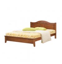 Ліжко ONDER MEBLI DB 5122(D) 1600х2000 мм вишня
