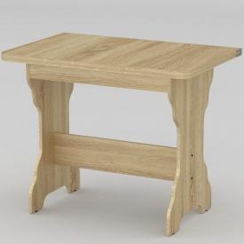 Стол кухонный Компанит КС-3 900x590x732 мм дуб Сонома