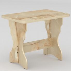 Стол кухонный Компанит КС-2 NEW 900x600x716 мм мрамор оникс