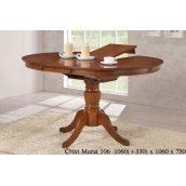 Обеденный стол ONDER MEBLI Murat 106 шоколад