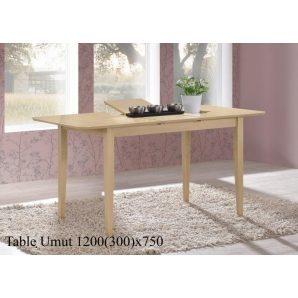 Обеденный стол ONDER MEBLI Umut 120 античный беж