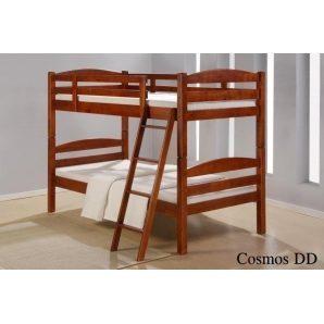 Двох'ярусне ліжко ONDER MEBLI DD Cosmos 1000х2000х1680 мм горіх