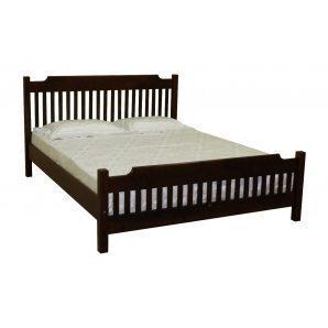 Кровать Скиф ЛК-112 200x160 см орех