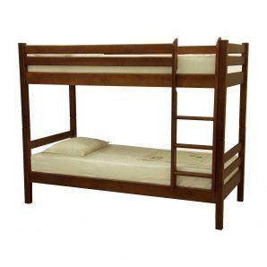 Кровать двухъярусная Скиф ЛК-136 200x90 см орех