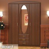 Прихожая-шкаф Мебель-Сервис Вита-1 2100х1500х520 мм орех