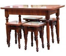 Стол кухонный Мебель-Сервис раздвижной 1000х600х745 мм орех